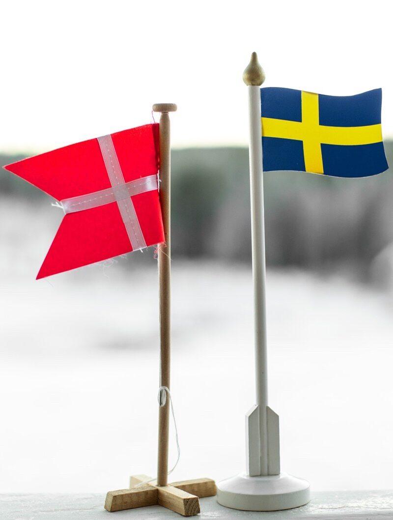Danmark – Sverige 1-1